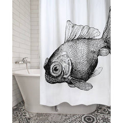 Goldfish Shower Curtain