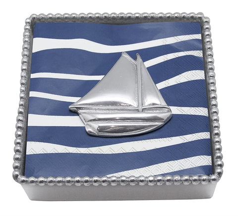 Sailboat Rope Beaded Napkin Holder