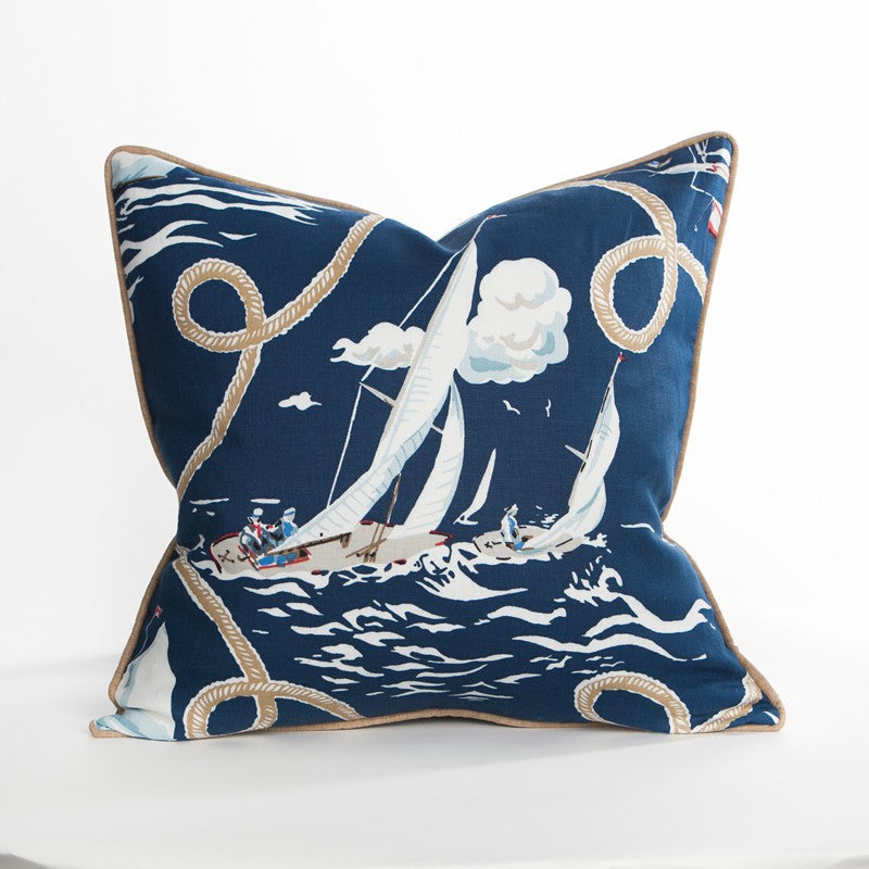 Regatta I Pillow - Annapolis Collection