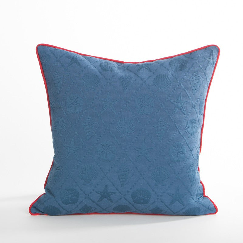 Shells / Cadet Pillow - Annapolis Collection