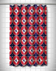 Sailboats & Anchors Shower Curtain