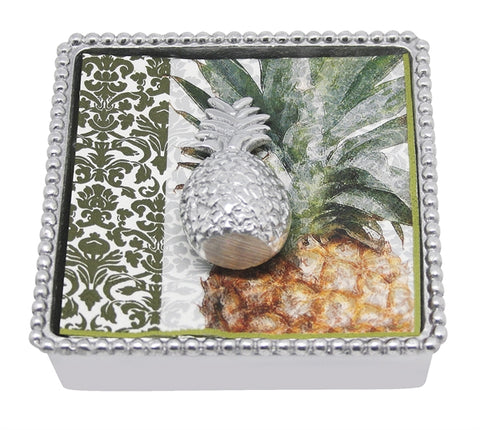 Pineapple Beaded Napkin Holder