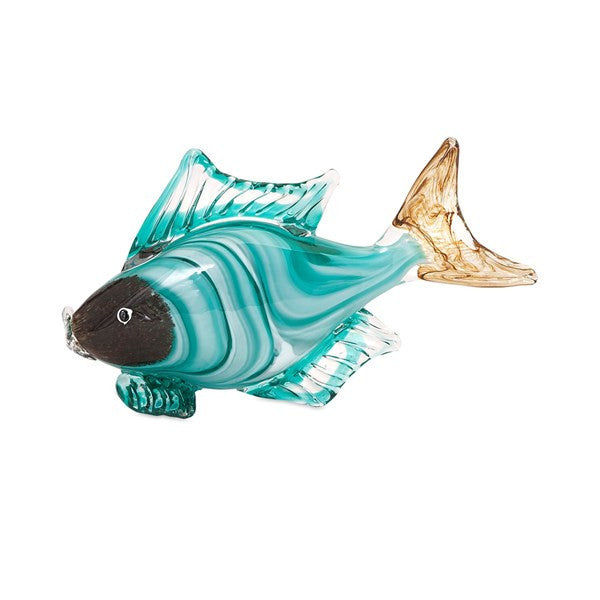 Croix Glass Fish Statuary