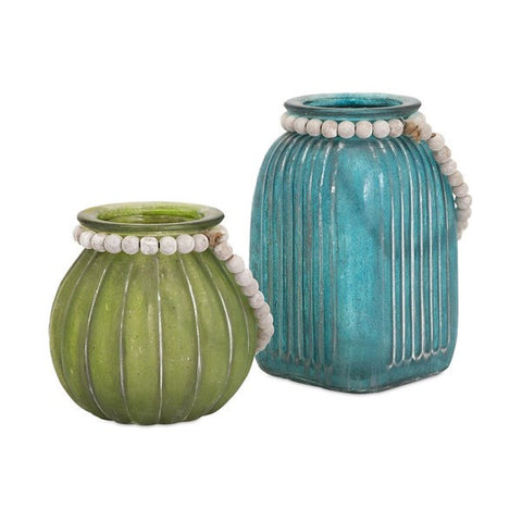 Alta Colored Jars - Set of 2