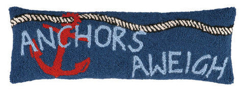 Anchors Aweigh Hook Pillow