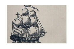 Galleon Bath Mat