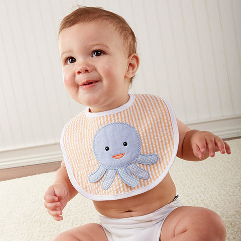 Beach Buddies 3-Piece Bib Gift Set- Boys