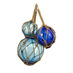 Blue Fishing Floats- Set of 3