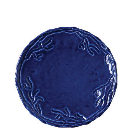 Corallo Blue Salad Plate Set by Vietri- Retired- Limited Stock!