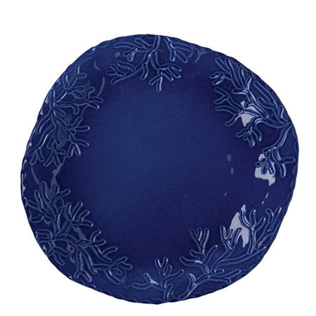 Corallo Blue Medium Round Platter by Vietri- Retired- Limited Stock!