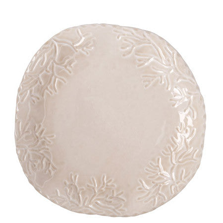 Corallo Sand Medium Round Platter- Retired- Limited Stock!