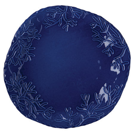 Corallo Blue Large Round Platter by Vietri- Retired- Limited Stock!