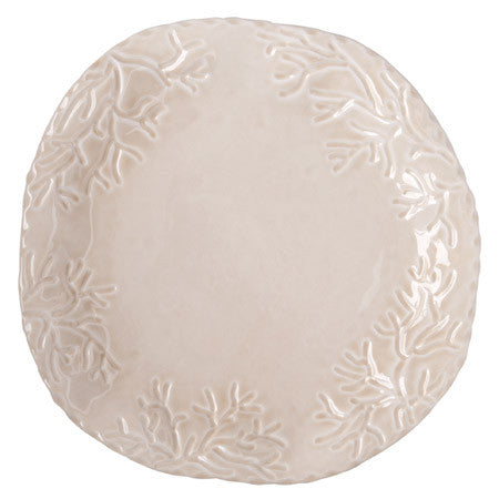 Corallo Sand Large Round Platter- Retired- Limited Stock