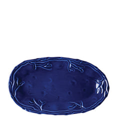 Corallo Blue Small Oval Platter by Vietri- Retired- Limited Stock!
