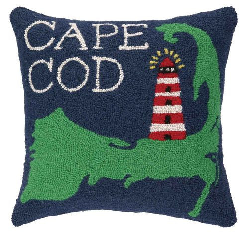 Take Me To Cape Cod Hook Pillow- Backordered Item
