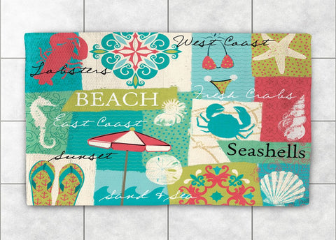 Coastal Party Accent Rug