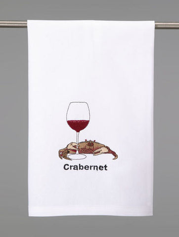 Crabernet Kitchen Towel