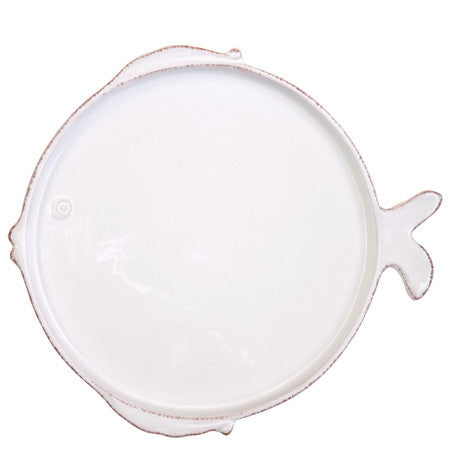 Lastra Fish Dinner Plate Set of 4 by Vietri