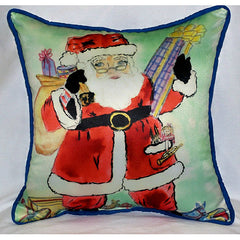 Santa Large Pillow Indoor/Outdoor Pillow