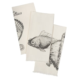 Sealife Hand Towel Set