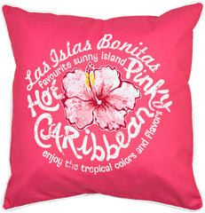 Hot Caribbean Pillow