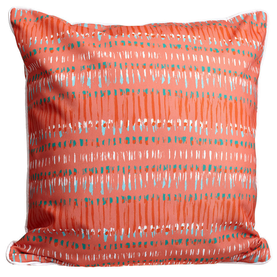 Tribal Coral Pillow
