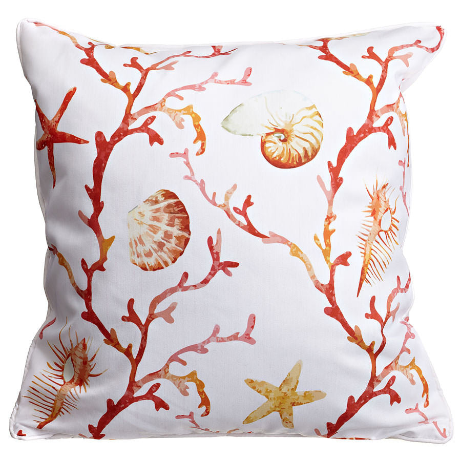 Coral Lattice Pillow