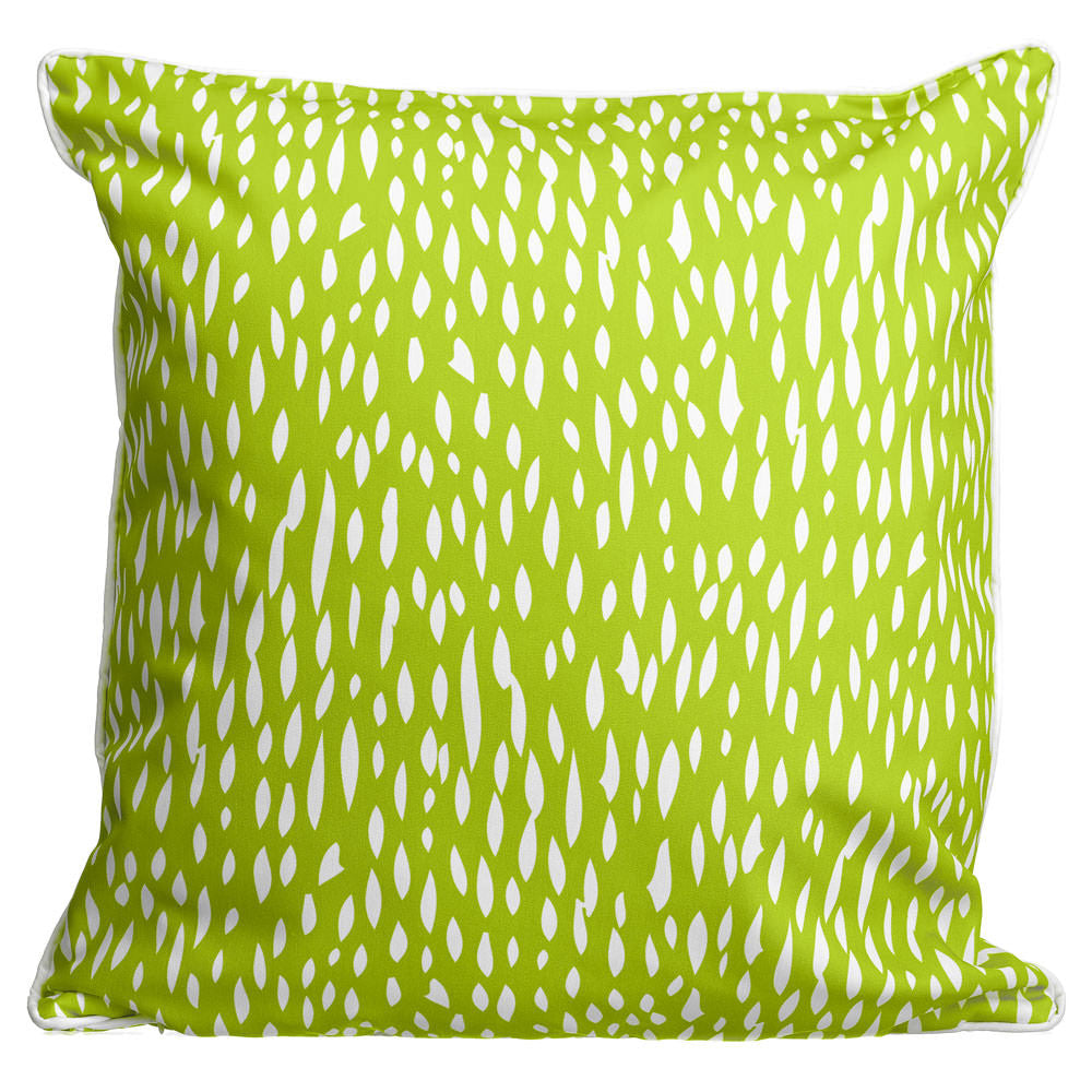 Hipster Lime Pillow