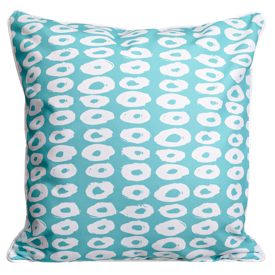 Doughnuts Aqua Pillow