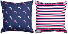 Islamorada - Sailfish & Stripes Pillow