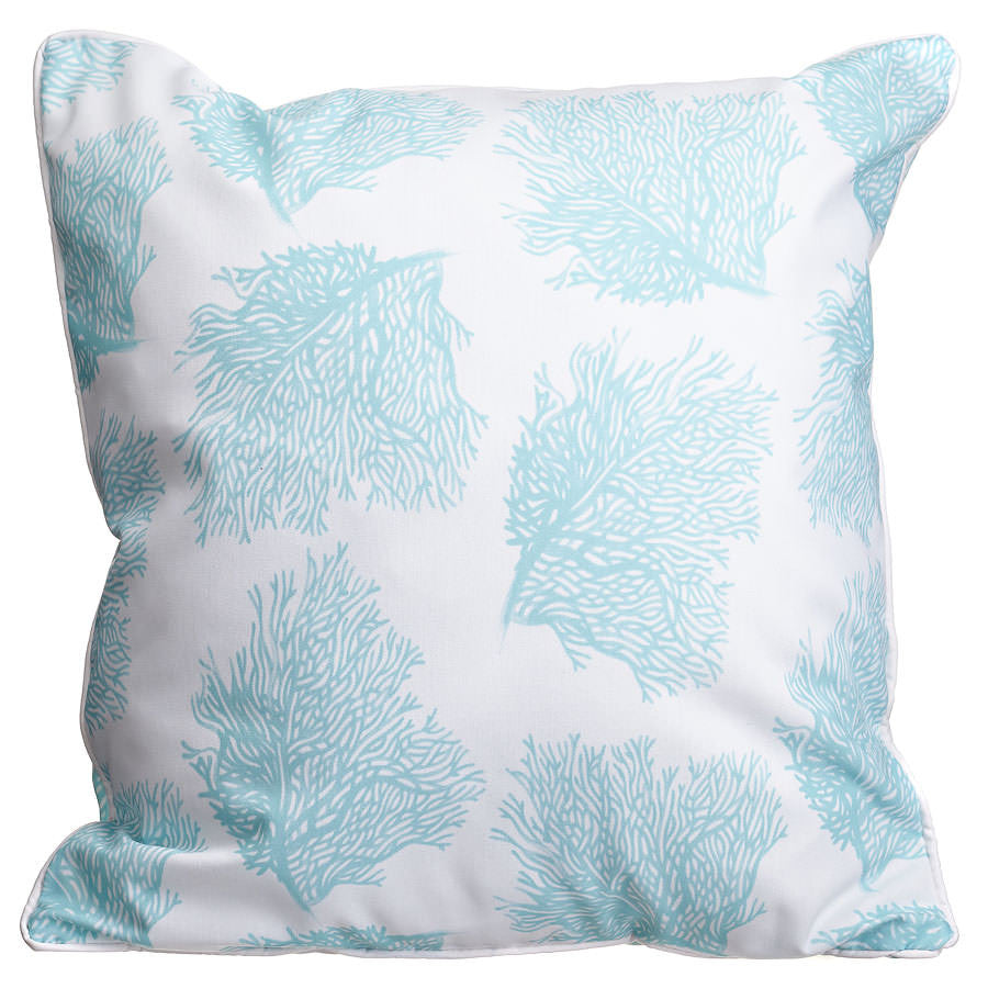 Sea Fan Aqua Pillow