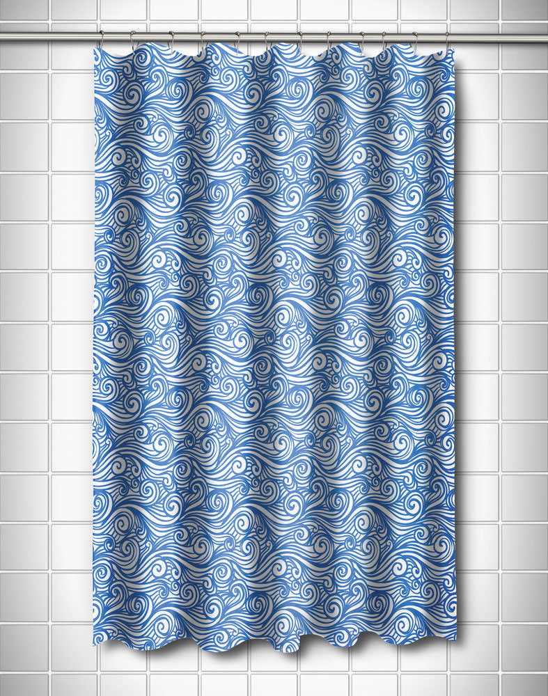 Dreamy Sea Shower Curtain