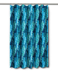 Midnight Jungle Shower Curtain