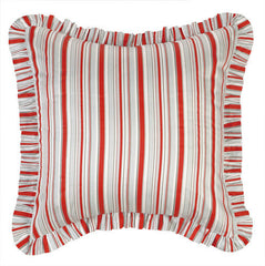 Jacobean Red Euro Sham