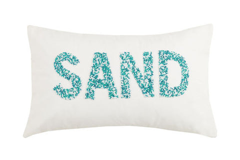 Beaded 'Sand' Pillow