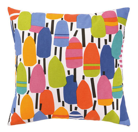 Buoys Printed Outdoor Pillow