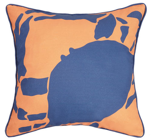 Hot Crab Printed Pillow