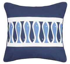 Sardinia Striped Printed Pillow