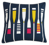 Yacht Club Printed Pillow