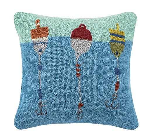 Bobbing Buoys Hook Pillow