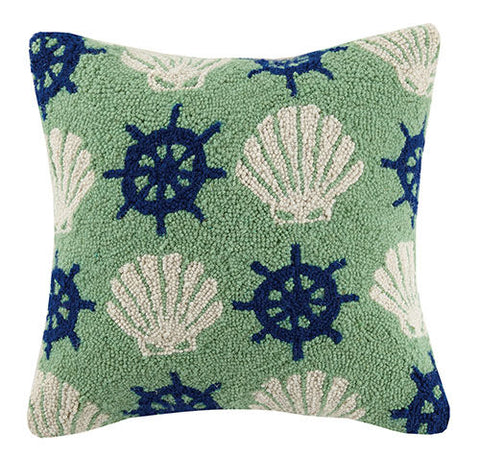 Shell Wheel Repeat Hook Pillow
