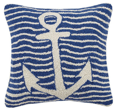Multi Wave Anchor Hook Pillow