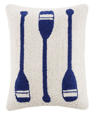 Oar Trio Hook Pillow