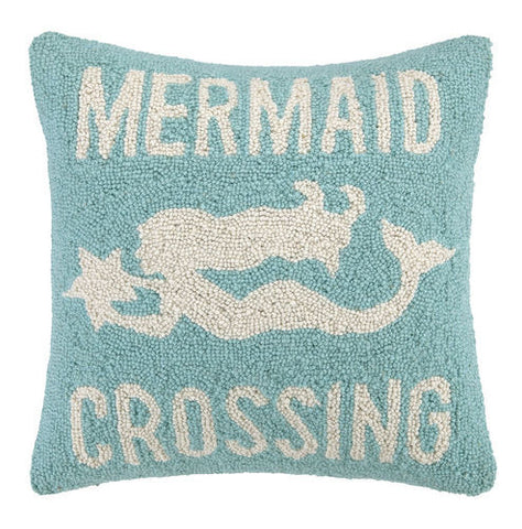 Mermaid Crossing Hook Pillow