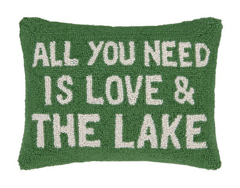 Need Love & The Lake Hook Pillow
