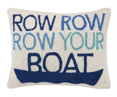 Row Row Row Your Boat Hook Pillow