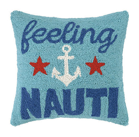 Feeling Nauti Hook Pillow