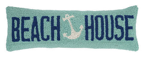 Beach House Anchor Hook Pillow