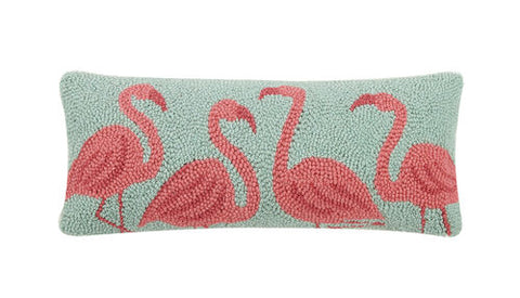 Flamingo Beach Hook Pillow