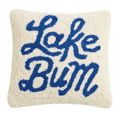Lake Bum Hook Pillow